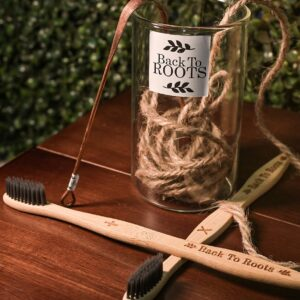 Dental Kit | Bamboo Toothbrush & Copper Tongue Cleaner